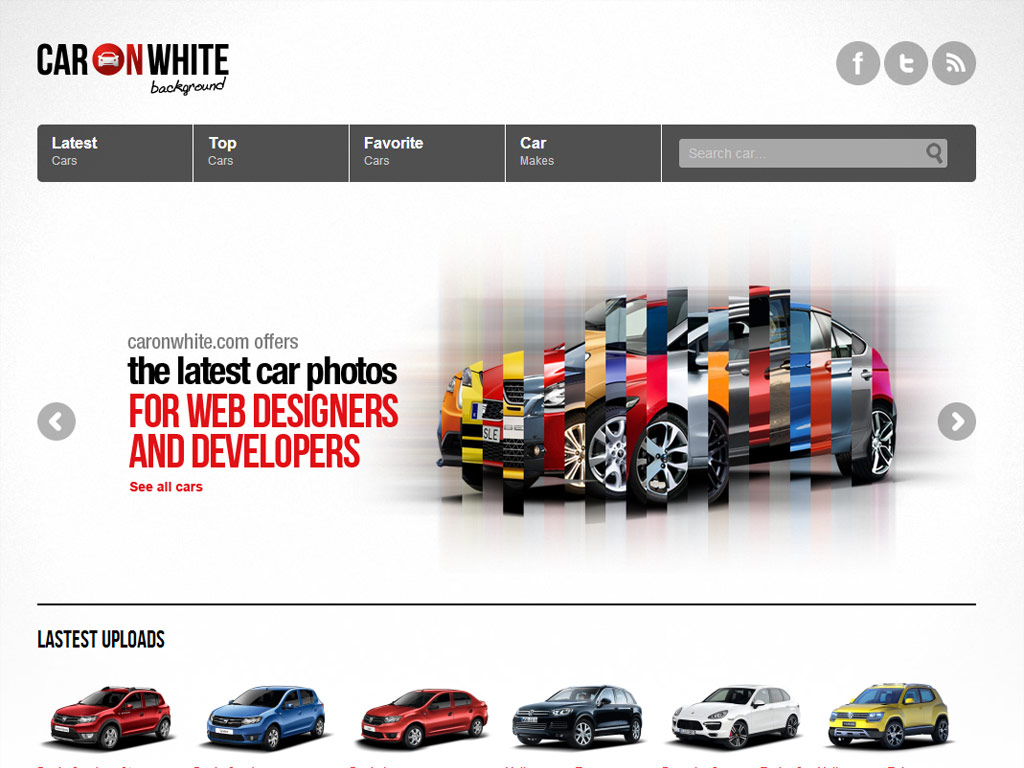 Car On White Background Css Gallery Free Wordpress Themes And