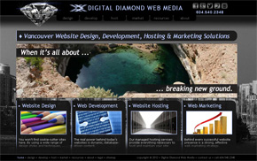 Digital Diamond Web Media Vancouver