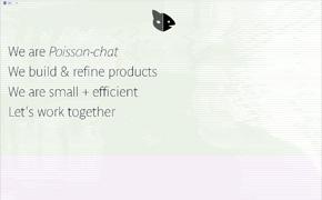 POISSON CHAT  design plus dev