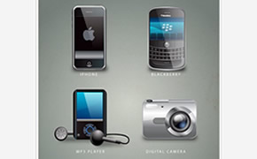 Free Gadget Icon Set from IconShock