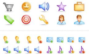 Glossy: Free Icon Set