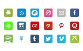 Free Social Retina Icon Pack