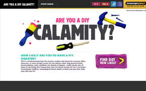 DIY Accident Risk Calculator | Ironmongery Direct