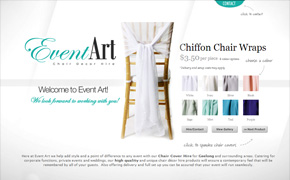 Chair Cover Hire – Event Art