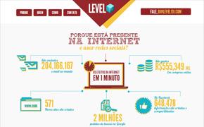 Site da Agencia Level 131