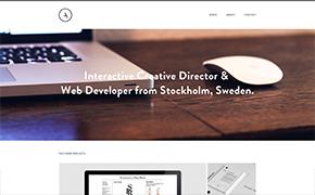 Alexander Almström – Webbdesigner & Webbutvecklare