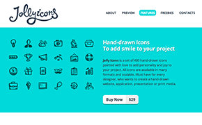 Jolly Icons – 400 Hand-Drawn Icons