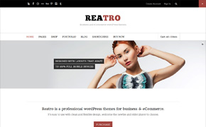 Reatro-Retina & easy to use wordpress theme