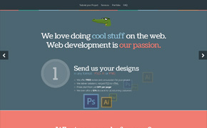PSD to HTML and WordPress Theme development