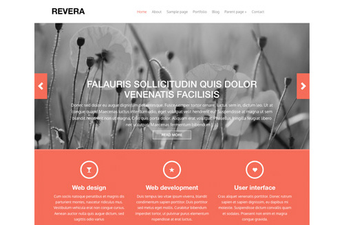 Revera Free Wordpress Theme