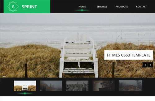 Sprint Free HTML5 Bootstrap Template