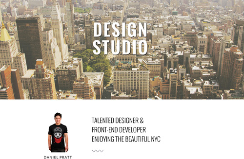 Studio One Page Free Bootstrap HTML Theme