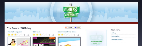 Avenue CSS