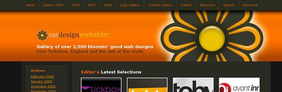CSS Design Yorkshire