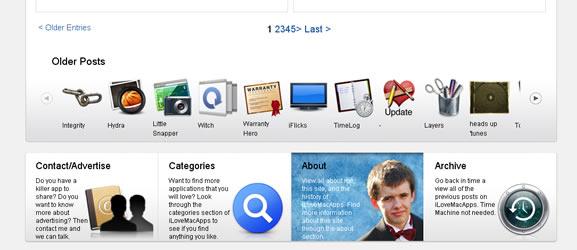 I love mac apps