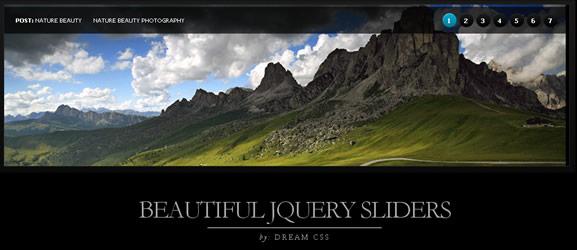 Criar um Tutorial Slider bonito jQuery