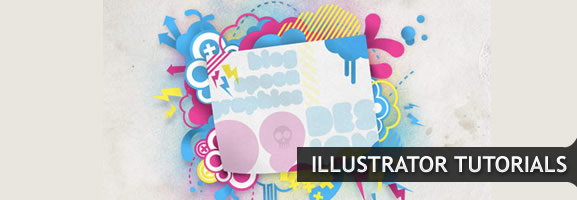 Create a Bright Retro Grunge Vector Illustration