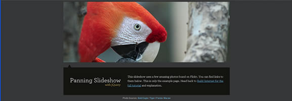 Animate Panning Slideshow with jQuery