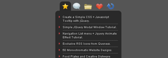 jQuery Tabbed Interface / Tabbed Structure Menu Tutorial