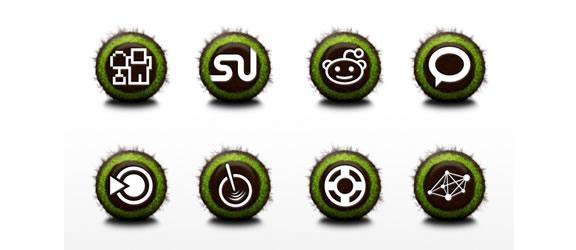 Nurture - social icons