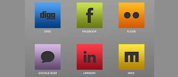 SleekSocial: Icon Pack