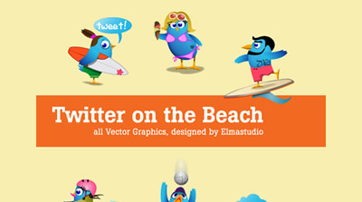 6 Cool Twitter Icons