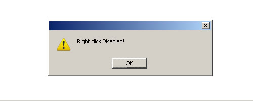 Tutorial Disable Right Click pada blog