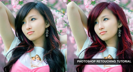 Changing Hair Color in Pictures