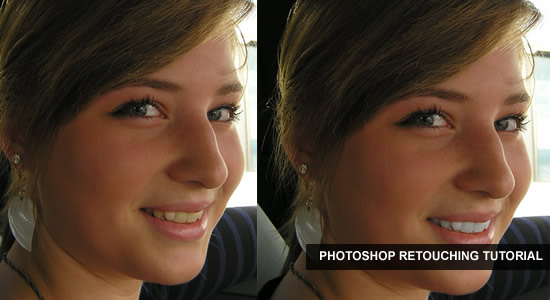 WHITEN TEETH TO IMPROVE A SMILE IN PHOTOSHOP CS4