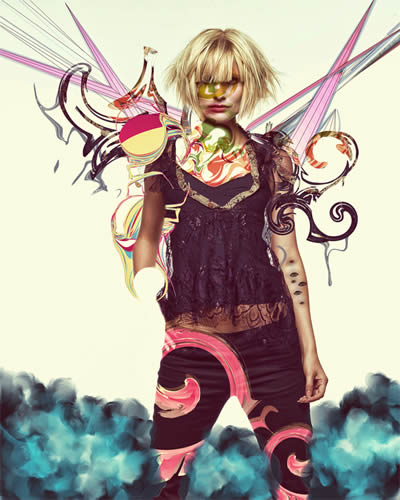 High Fashion Designers Designs on Poster Design Tutorials In Photoshop  35 Really Awesome Tutorials