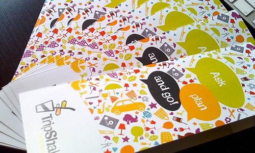 Brand new TripShake brochures
