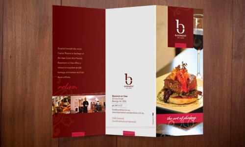 Basement on View Brochures