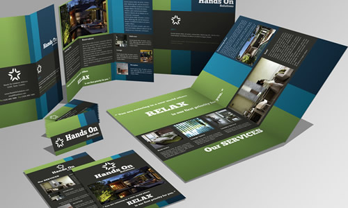 Brochure, Trifold, Flyer and Business Card Set