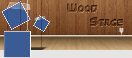 Facebook Timeline Cover - Wood Stage
