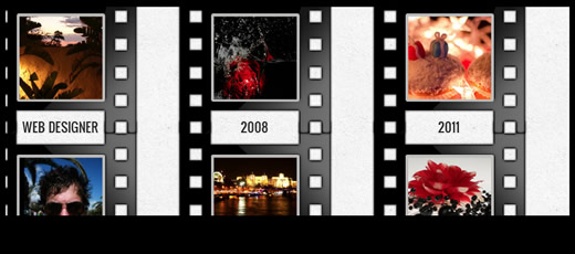 Facebook Timeline Cover Template – Film Strip