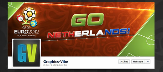 Free Euro 2012 Facebook Timeline Covers