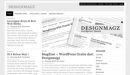 MagZine – Magazine Style Free WordPress Theme