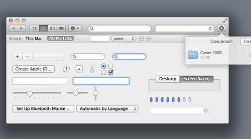 Leão OSX UI Kit PSD