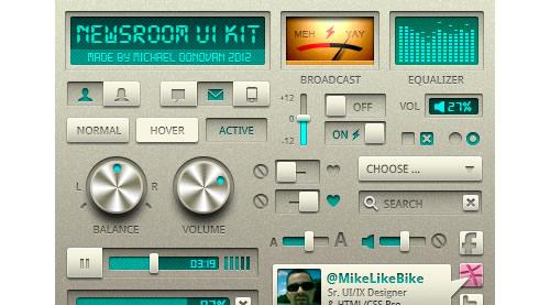 UI Kit Freebie (Redação)