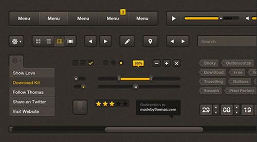 Butterscotch UI Kit