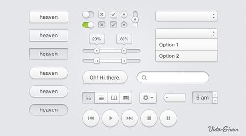 Interface de Usuário Celestial Assorted (UI) Kit