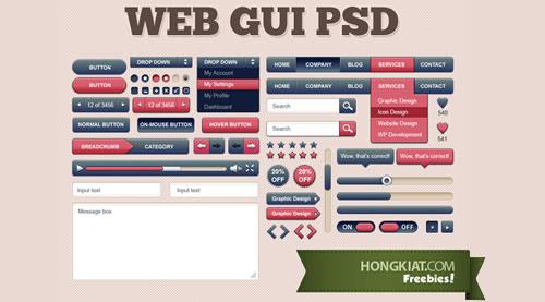 GUI da Web Kit