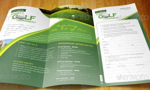 Elegant Day Care A Tri Fold Brochure Template Jeppefmtk - Elegant brochure templates