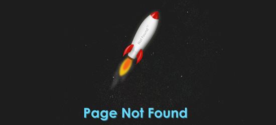 Criar uma página 404 usando CSS3 animações