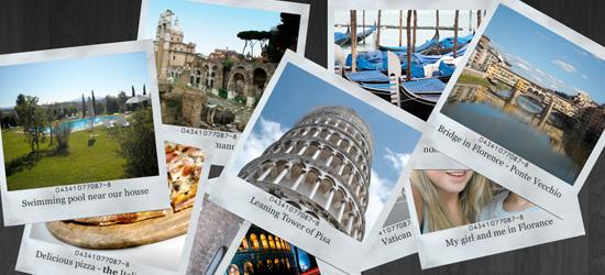 Criar imagens Polaroid usando CSS3