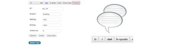 Como adicionar Quicktags em formulários de comentários do WordPress