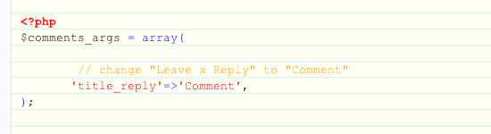 Como rapidamente e facilmente personalizar o WordPress formulário de comentários