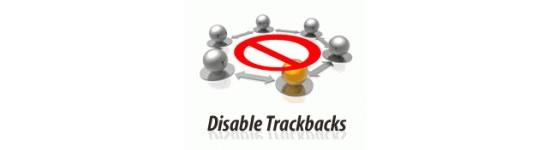 Como desativar Trackbacks e pings em lugares existentes WordPress
