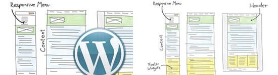 Criar um Alternada, Mobile-primeiro tema WordPress