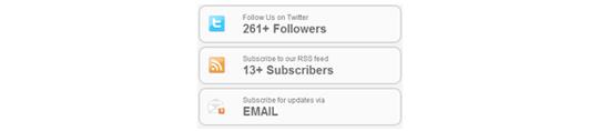 Criar um TwitterRSS Estatísticas Widget para WordPress